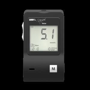 GlucoRx Voice blood glucose monitor
