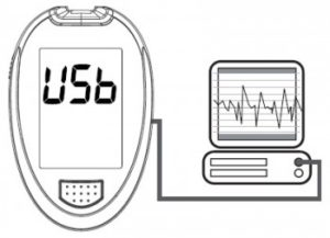 Connecting the Nexus blood glucose meter to a computer