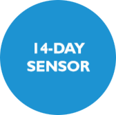 14-day sensor